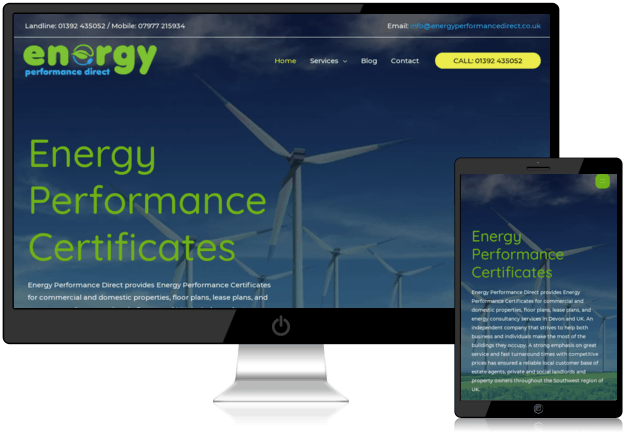 energy-performance-direct-website-design