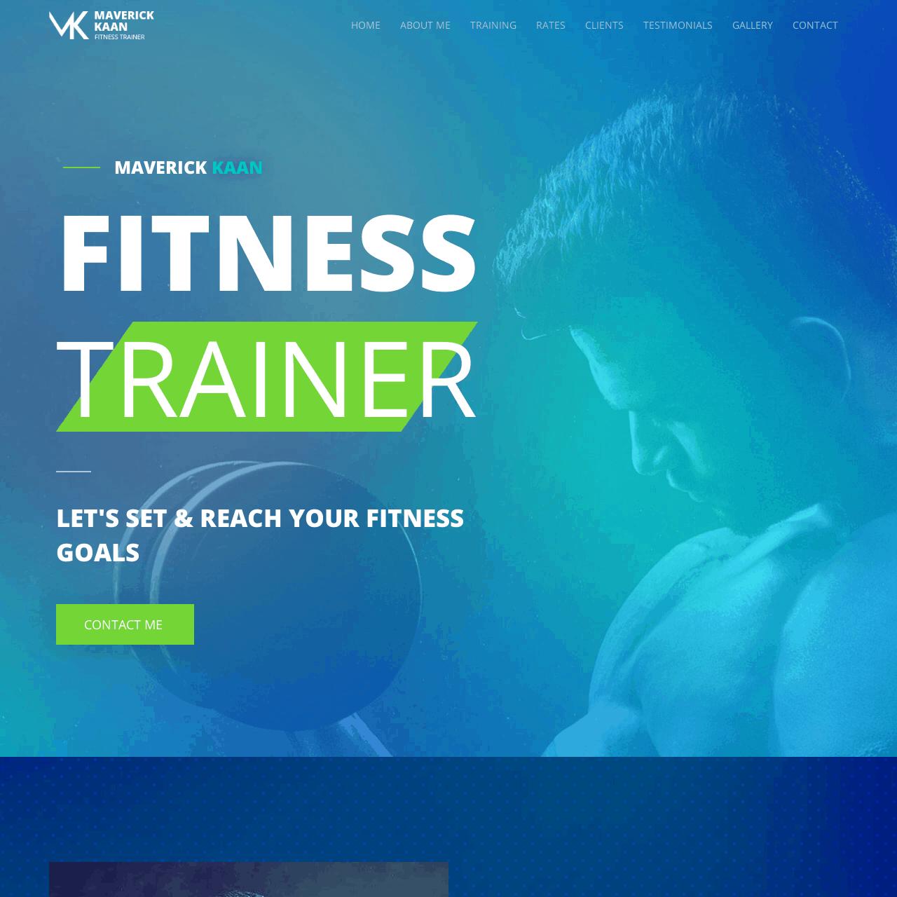 fitness-training-website-design