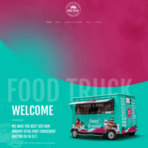 food-truck-website-design