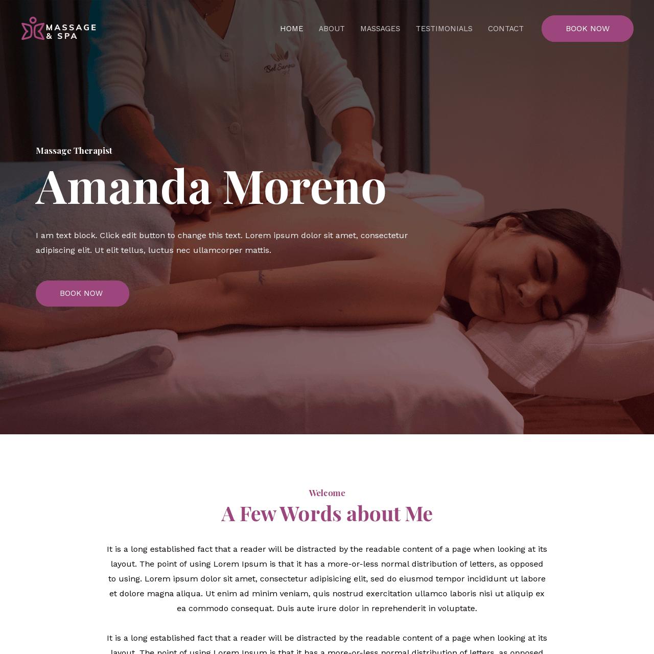 massage-therapist-website-design