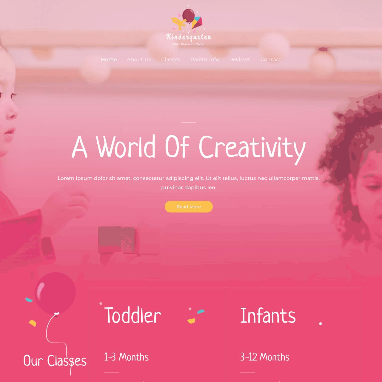school_kindergarten-website-design