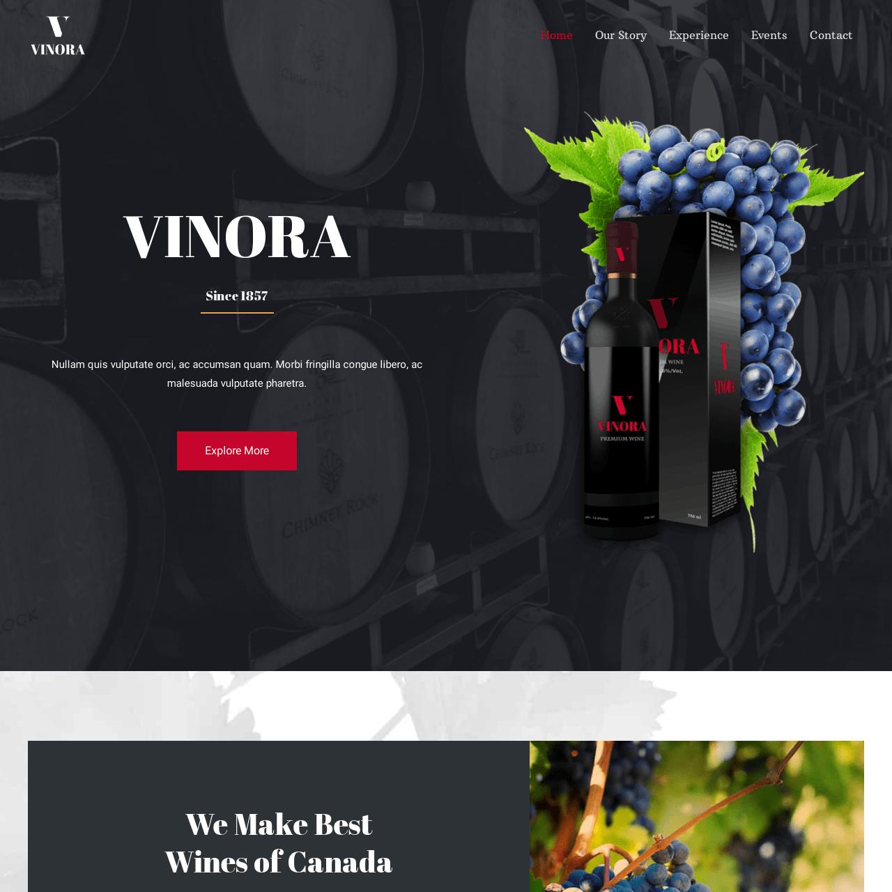 winery-website-design